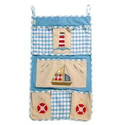 torba na zabawki do powieszenia łódka marki Win green