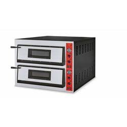 Piec do pizzy 2-komorowy   12 x pizza 36 cm   inox   230V lub 400V - produkt z kategorii- Piece i płyty grzej