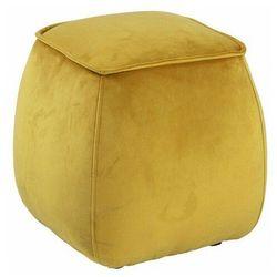 Żółty puf tapicerowany do siedzenia - Arktos 4X