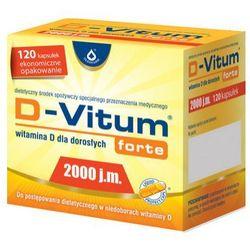 D-Vitum Forte Witamina D3 2000IU 120 kaps.