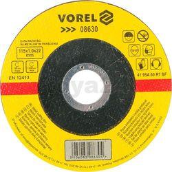 Tarcza do cięcia metalu 115x1x22 / 08630 / VOREL - ZYSKAJ RABAT 30 ZŁ