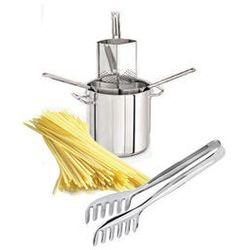 Wkład do makaronu 24cm+szczypce spaghetti, promo2