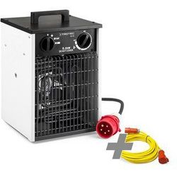 Trotec Grzejnik elektryczny tds 30 + profesjonalny przedłużacz 20 m / 400 v / 2,5 mm² (cee 16 a) (4052138035665)