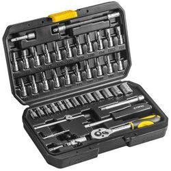 Topex Zestaw kluczy nasadowych 38d640 1/4 cala (46 elementów) (5902062386403)