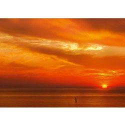Wally - piękno dekoracji Tablica magnetyczna suchościeralna zachód słońca 195