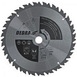 Tarcza do cięcia DEDRA HL60036 600 x 30 mm do drewna z ogranicznikiem posuwu + DARMOWY TRANSPORT! + Zamów z DOSTAWĄ JUTRO! (5902628816528)