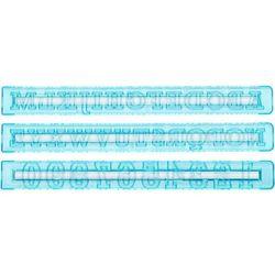 Szablony liter i cyfr do dekoracji (10a09748) marki Tala
