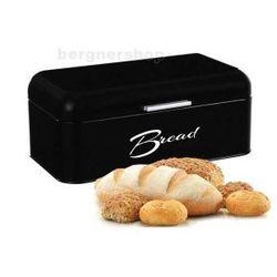 CHLEBAK STALOWY SALVADOR CZARNY MAT DUŻY z kategorii chlebaki