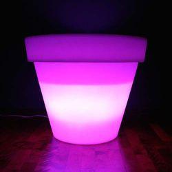 Donica podświetlana SATURN 55 cm RGB 16 kolorów