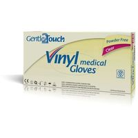 Gentle2touch  rękawiczki vinylowe bezpudrowe l