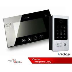 Zestaw wideodomofonu z szyfratorem i czytnikiem kart rfid s20da_m670b marki Vidos