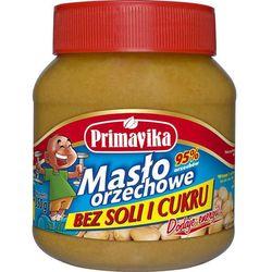 Masło orzechowe bez soli i cukru 350g z kategorii Masła orzechowe, kakaowe i inne
