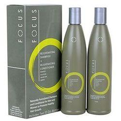 FOCUS Szampon + Odżywka 2x350ml , pobudza włosy do wzrostu - sprawdź w ODSIWIACZE.pl - odsiwiacze,siwe włosy