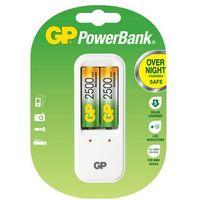 Ładowarka GP PowerBank PB410 + 2x2500mAh GS250-U2 + Zamów z DOSTAWĄ JUTRO! - produkt z kategorii- �