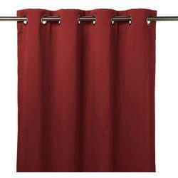 Zasłona zaciemniająca GoodHome Vestris 140 x 260 cm czerwona