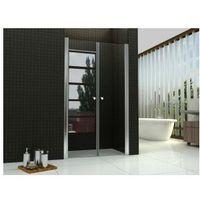 Rea Western space drzwi wahadłowe 100x190, szkło grafitowe + powłoka easy clean