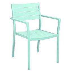 Krzesło ogrodowe pastelowy niebieski collins od producenta Miloo