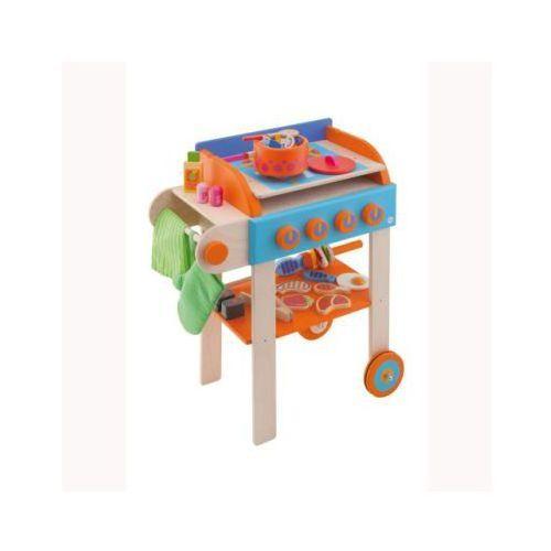 SEVI Drewniany grill z akcesoriami - z kategorii- pozostałe zabawki agd