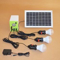 Użytkowa lampa solarna na 3 żarówki