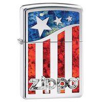 Zapalniczka ZIPPO Classic American Flags (Z335)