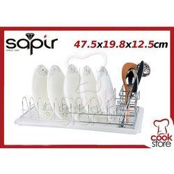Suszarka ociekacz do NACZYŃ talerzy chrom SAPIR - produkt dostępny w Cook Store