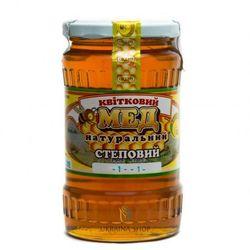 Miód Pszczeli Nektarowy Wielokwiatowy (Stepowy), 100% Naturalny 480 g