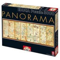 3000 EL. Mapa świata 1375 panorama - produkt z kategorii- Pozostałe gry i konsole