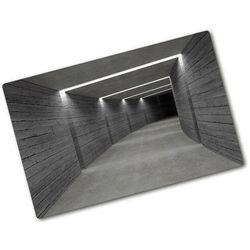 Wallmuralia.pl Deska kuchenna szklana betonowy tunel architektura