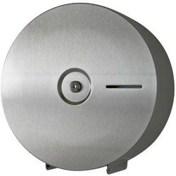 Pojemnik na papier toaletowy JUMBO MAXI NAWARRA Sanitario stal szlachetna matowa, T6456
