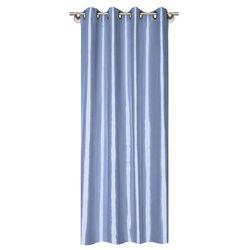 Zasłona Silk 140 x 245 cm niebieska