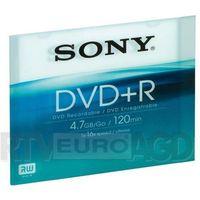 Sony DVD+R Slim case x16 - produkt w magazynie - szybka wysyłka! z kategorii Płyty CD, DVD, BD