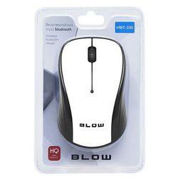 Mysz BLUETOOTH BLOW MBT-100 biała MBT-100 biała - odbiór w 2000 punktach - Salony, Paczkomaty, Stacje Orlen (5900804102502)