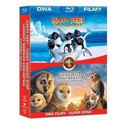 Bd 2 pack legendy sowiego królestwa/happy feet (2bd)  7321999316044 od producenta Galapagos films