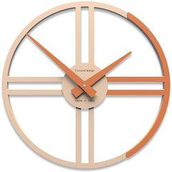Zegar ścienny gaston  terakota marki Calleadesign