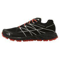 The North Face ULTRA ENDURANCE Obuwie do biegania Szlak black/valencia orange