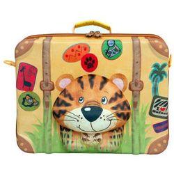 Okiedog WILD PACK Walizka Tygrys - produkt z kategorii- Walizeczki