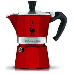 Bialetti kawiarka moka express czerwona 1 porcja (8006363018449)