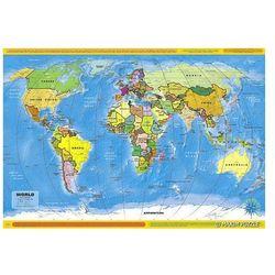 Mapa polityczna Świata - puzzle - produkt dostępny w www.epinokio.pl