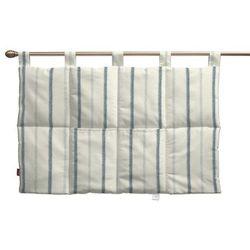wezgłowie na szelkach, ecru tło, niebieskie paski, 90 x 67 cm, avinon marki Dekoria