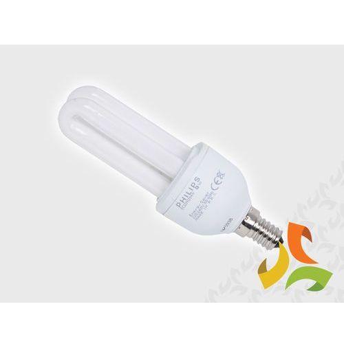 Świetlówka energooszczędna PHILIPS 9W (40W) E14 SES z kategorii świetlówki