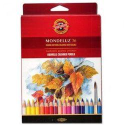 Kredki akwarelowe Koh-i-noor Mondeluz 36 kolorów 3719
