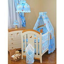 MAMO-TATO Lampka Nocna Zamek błękitny z kategorii oświetlenie dla dzieci