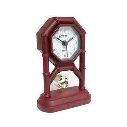 Atrix Mini zegar z wahadłem brązowy #ak42