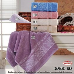Ręcznik sarmasi - kolor jasny różowy sarmas/rba/633/050090/1 marki Markizeta