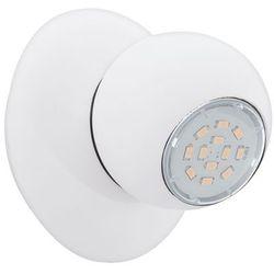 Kinkiet LED (Ciepła barwa światła) NORBELLO 3 1X5W GU10 93167 Biały EGLO z kategorii kinkiety