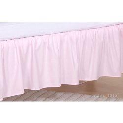 Mamo-tato falbanka do łóżeczka słonik różowy