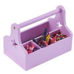 Pt organizator na biurko star kolor różowy/fioletowy wyprodukowany przez Kids conce