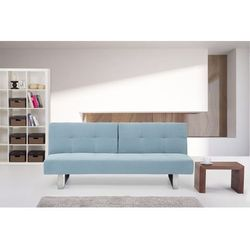 Rozkładana sofa ruchome oparcie - DUBLIN miętowy - oferta [d547d5aabf3377f3]