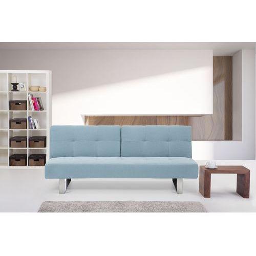 Rozkladana sofa ruchome oparcie - DUBLIN mietowy - produkt z kategorii- sofy