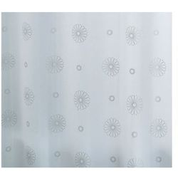 Zasłonа SKY, biały / srebrny, 180 x 200 cm